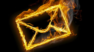 burning mail