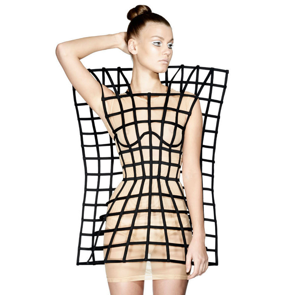 Risultati immagini per 3d fashion