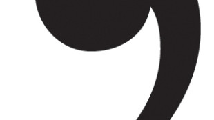 comma-black